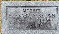 Barbara Ellen <i>Allen</i> Brown