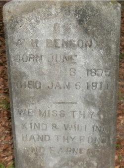 A H Benson