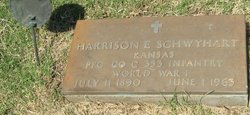 Harrison E Schwyhart