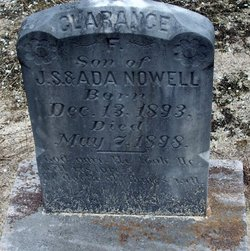 Clarence F. Nowell