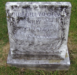 Ollie Dell <i>Vaughan</i> Wiley