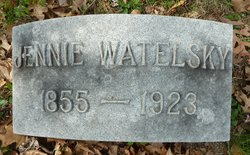 Jennie <i>Miller</i> Watelsky