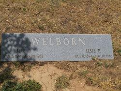 Elsie P <i>Letcher</i> Welborn