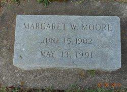 Margaret <i>White</i> Moore