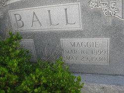 Mary Maggie <i>Simmons</i> Ball