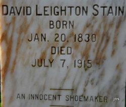 David Leighton Stain