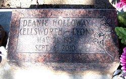 Verna Dean Deanie <i>Lyon</i> Holloway