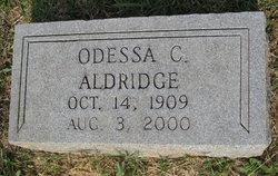 Annie Odessa <i>Chance</i> Aldridge