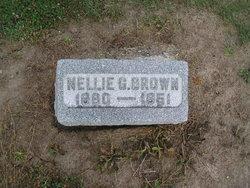 Nellie G <i>Burchard</i> Brown