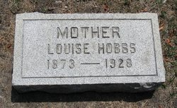 Louise May <i>Wells</i> Hobbs