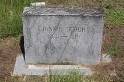 Clarandy Jane Jannie <i>Sanders</i> Burch