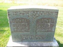 Sarah Annette <i>Nicholas</i> Arbon