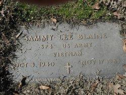 Sammy Lee Blaine