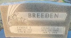 Charles A. Shorty Breeden