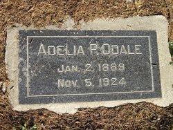 Adelia May <i>Proctor</i> Odale