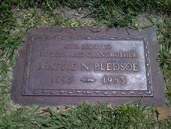Mattie Narcissa <i>Hudson</i> Bledsoe