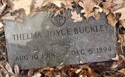 Thelma <i>Joyce</i> Buckley