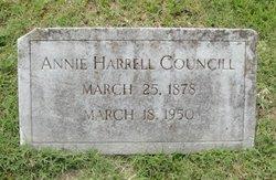 Annie Harrell Councill