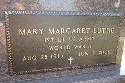 Mary Margaret <i>Travis</i> Luthe