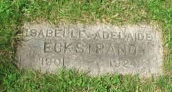 Isabelle Adelaide <i>Smith</i> Eckstrand
