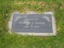 Warren J Bahan