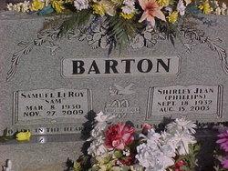 Shirley Jean <i>Phillips</i> Barton