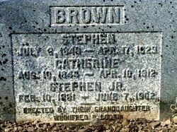 Stephen Brown, Jr