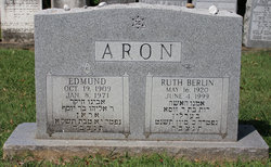 Ruth <i>Berlin</i> Aron