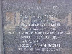 Rhoda Theresa <i>LaBorde</i> Rosiere