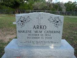 Marlene Catherine Mum <i>Grefenberg</i> Arko