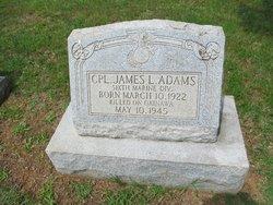 Corp James Ligon Adams