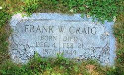 Frank W Craig