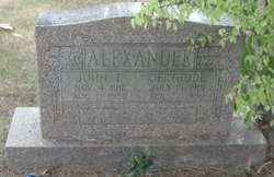 Gertrude M <i>Beshears</i> Alexander