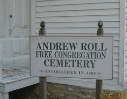 Andrew Roll Free Congregation Cemetery