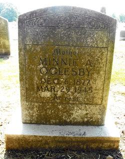 Minnie A. <i>Tucker</i> Oglesby