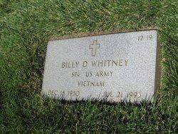 Billy D Whitney