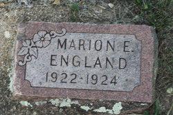Marion E England