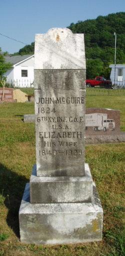 Pvt John Henry Jack Mcguire