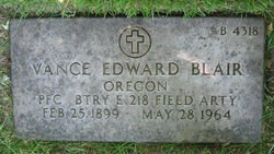 Vance Edward Blair