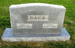 Mary Ann <i>Dixon</i> Back