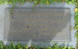 Bulah Ivalee <i>Baker</i> Allen