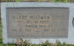 Harry <i>Walford</i> Mays
