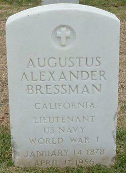 Lieut Augustus Alexander Bressman