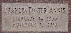 Frances Rubena Dot <i>Foster</i> Annis