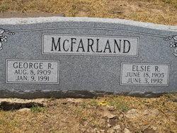 Elsie <i>Waldschmidt</i> McFarland