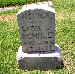 Lydia J <i>List</i> Echols