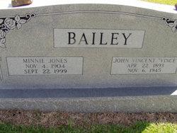 John Vincent Vince Bailey, Sr