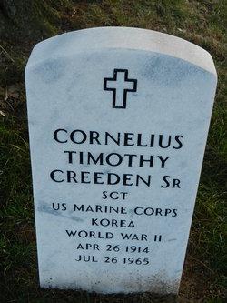 Cornelius Timothy Creeden, Sr