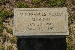 Jane Frances <i>Moxley</i> Allmond