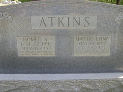 Hattie M. <i>Long</i> Atkins